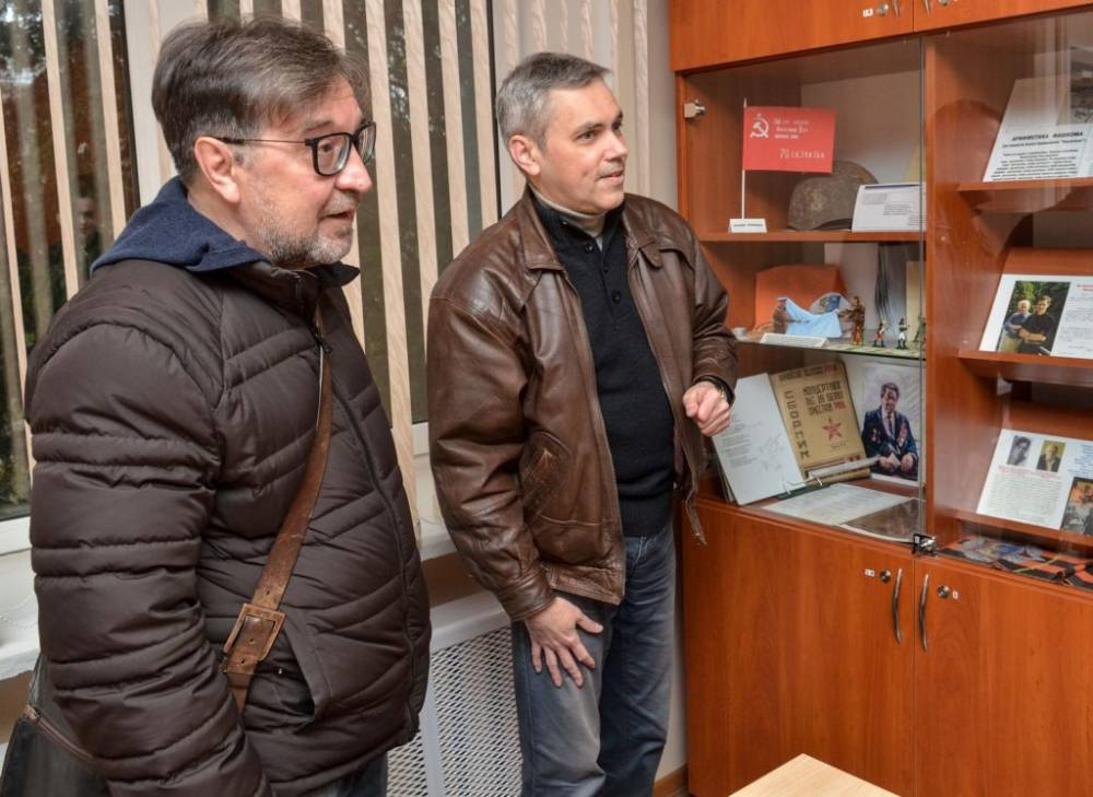 Лидер группы «ДДТ» Юрий Шевчук посетил ГГУ имени Ф. Скорины