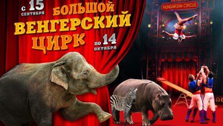 Не пропустите. В Гомель 15 сентября приезжает Венгерский цирк