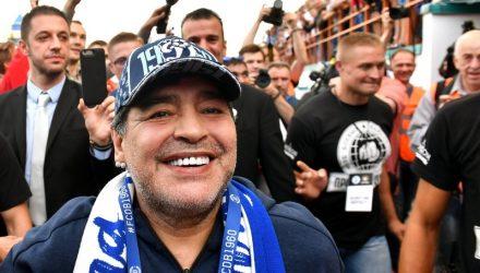 """СМИ: Марадона может покинуть брестское """"Динамо"""""""