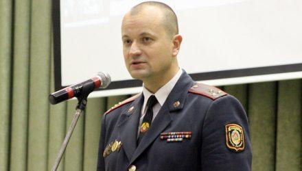 Лукашенко назначил нового начальника Гомельского УВД