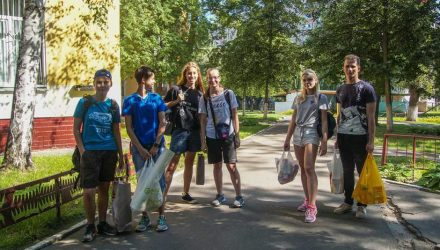 Школьники и студенты скинулись и организовали праздник для ребят из Гомельского городского социально-педагогического центра