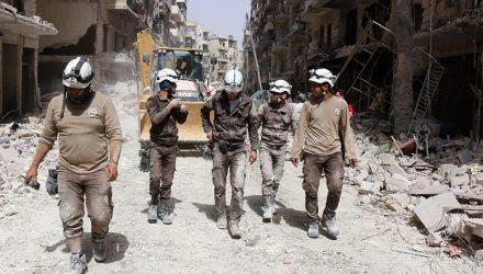 Минобороны РФ раскрыло подробности готовящейся в Сирии провокации с химоружием