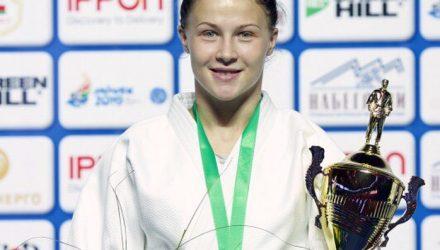 Гомельчанка Ульяна Миненкова завоевала бронзу European Judo Open Minsk 2018