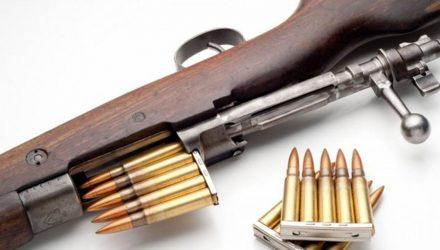 В Рогачёвском районе безработный на всякий случай запасся самодельным карабином и патронами. Нагрянули оперативники