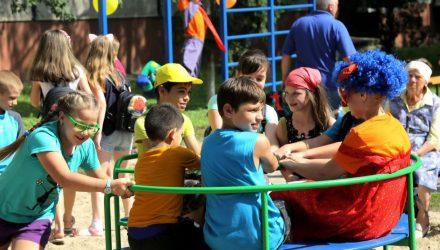 В Гомеле открылась новая детская площадка – фото, видео