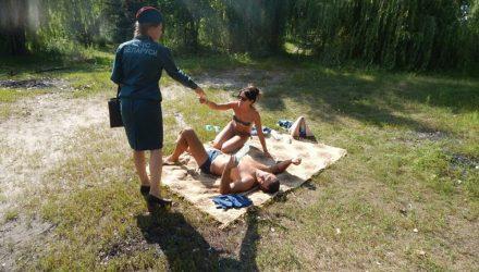 Случаи были. В Гомеле на берегу Обкомовского озера отдыхающим рассказали, как не утонуть и не получить солнечный удар