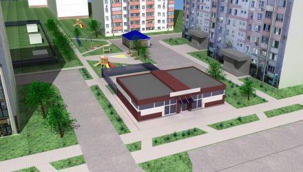 В Гомеле местные жители и представители власти обсуждали вопрос постройки кафе-пекарни во дворе по ул. Мазурова