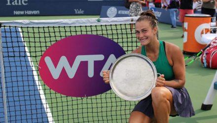 Теперь чемпионка. Соболенко завоевала первый титул в карьере на турнире в Нью-Хейвене