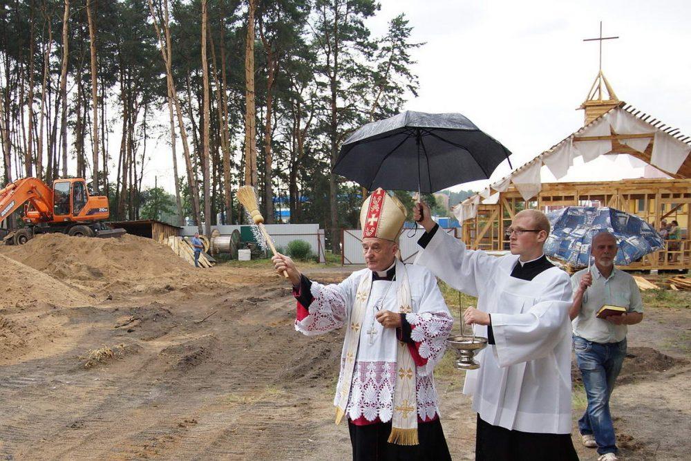 В Гомеле началось строительство нового костёла католиков. Каким он будет - фото