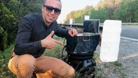 График размещения мобильных камер скорости в Гомельской области с 3 по 16 сентября