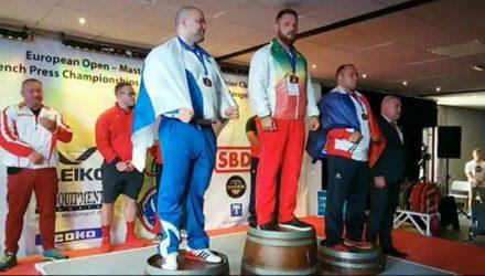 Гомельчанин стал чемпионом Европы по пауэрлифтингу, мозырянка взяла серебро