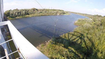 Гомельчанин спрыгнул с моста (видео)