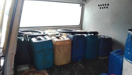Житель Мозырского района попался на перевозке 100 л крашеного дизтоплива
