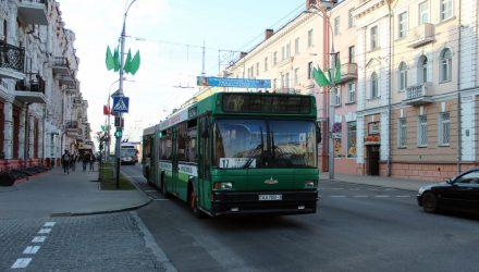 Как будет работать транспорт в Гомеле во время празднования Дня города