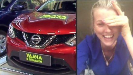 Красавица-медсестра реанимации из Гомеля выиграла красный внедорожник