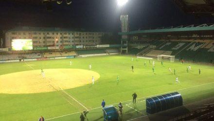 Фотофакт: концерт Валерии оставил след на Центральном стадионе в Гомеле, как от НЛО