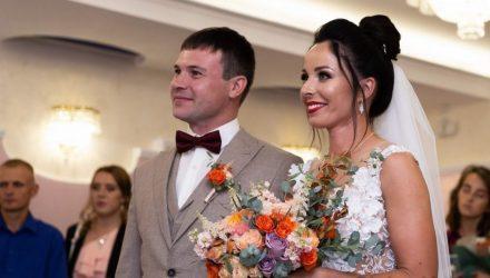 Белорусская биатлонистка Дарья Юркевич вышла замуж (фото)