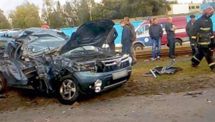 Смертельное ДТП в Мозыре: водитель Renault Duster попал под МАЗ и погиб на месте
