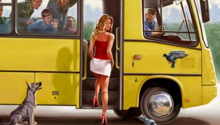 Дубина: Для покупки билета у водителя пассажиры будут обязаны входить в переднюю дверь автобуса