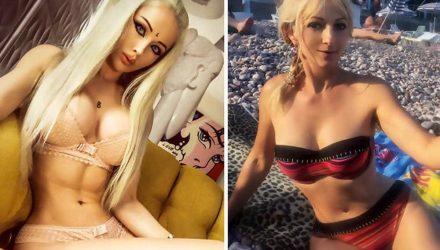"""""""Украинская Барби"""" выложила фото с матерью, и лучше бы она этого не делала"""
