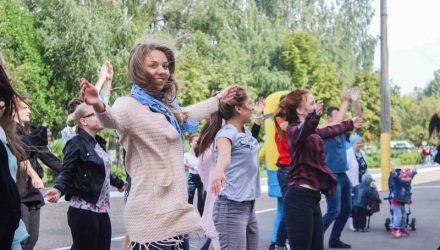 Массовую зарядку сделают студенты гомельского политеха на большой перемене