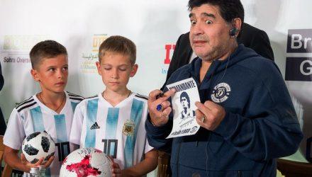 Диего Марадона: Я почти подписал контракт с белорусами, но отложил это на потом