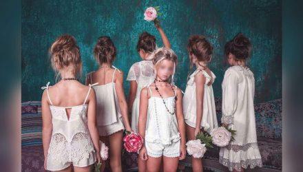 """""""Мечта педофила"""". В Украине разгорается скандал из-за рекламы белья для девочек"""