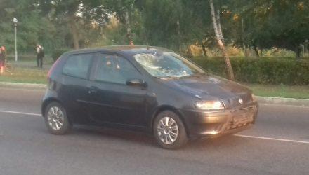 В Мозыре 21-летняя девушка только получила права и уже сбила ровесницу на пешеходном переходе