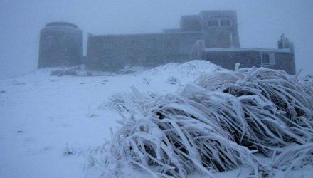 Зима близко: в Украине в сентябре выпал первый снег
