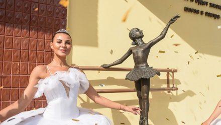 """В Гомеле в торжественной обстановке открыли скульптуру """"Маленькой балерины"""""""