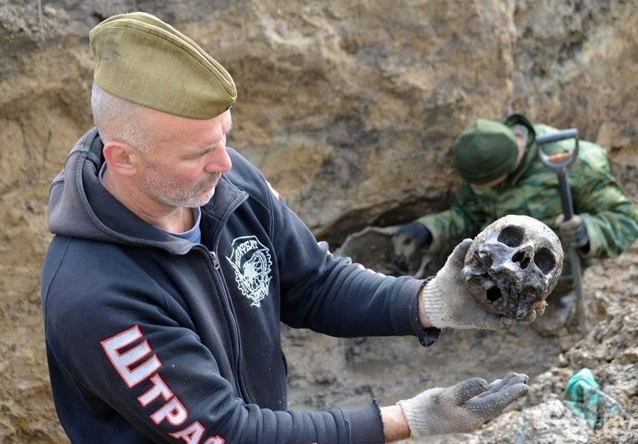 Под Гомелем раскопали одно из крупнейших городских захоронений жертв ВОВ