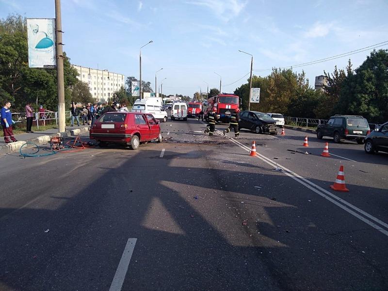 В Жлобине пьяный молодой водитель отправил на тот свет мужчину и едва не погубил 5-летнего мальчика
