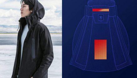 Концепт: «Умная» куртка на все сезоны с контролем температуры от Xiaomi