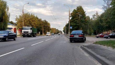 В Гомеле на пешеходном переходе сбили мужчину