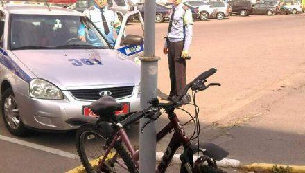 На Дне города 18-летняя девушка похитила велосипед у гомельчанки – злоумышленницу задержали