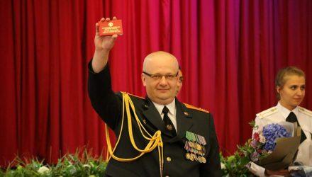 В Гомеле начальника УГАИ Игоря Макушенко проводили в отставку. Кто займёт его место – пока неизвестно