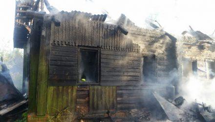 В семье, потерявшей на пожаре трёхлетнего сына, несколько лет назад едва не сгорела маленькая дочь