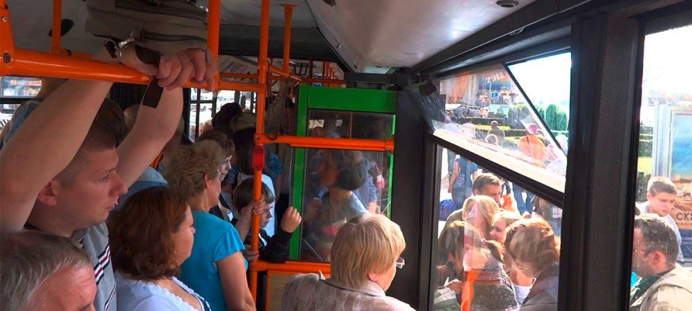 Толстушек видео развлечение в автобусе девчонки