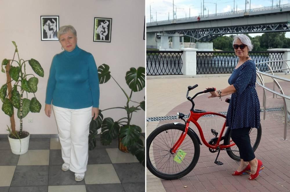 Гомельчанка в 55 лет освоила велосипед, похудела на 40 кг и забыла о многих болячках