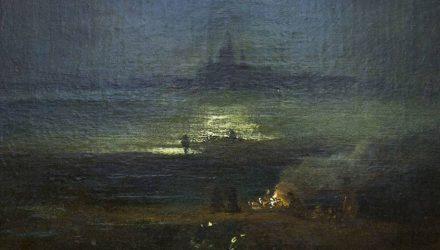 Гомельские таможенники в купе у проводника обнаружили подлинник картины Саврасова за $40 000