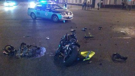ГАИ: На Гомельщине в текущем году произошло 25 мотоаварий, в которых погибли 4 водителя