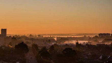 Ёжики в тумане и бабье лето. Погода в Гомеле на неделю