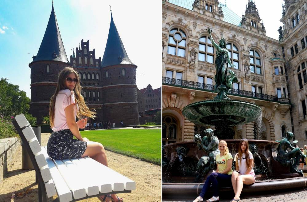 «Мечты сбываются, в них нужно верить!» Гомельские студентки посетили Германию