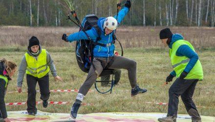 Под Гомелем прошёл финал Кубка северо-восточной Европы по парапланерному спорту