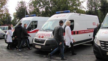 Гомельские реанимобили отправились за пострадавшими в ДТП в Украине белорусами