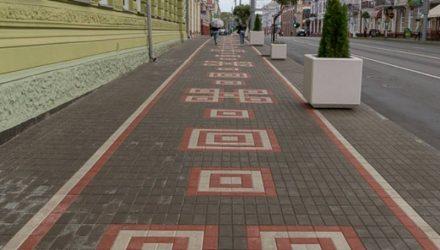 Сколько стоила Гомелю новая тротуарная плитка на улице Советской
