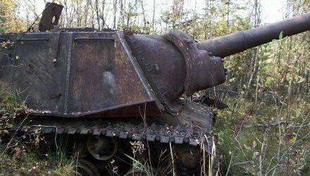 На Гомельщине нашли боевой танк