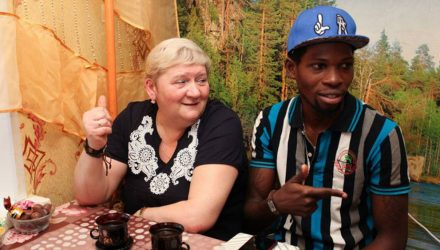 Инфаркт в 32 года. В Череповце умер принц из Нигерии, женившийся на россиянке