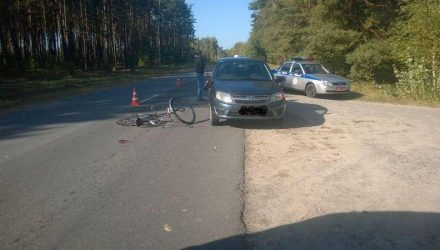 В Гомельском и Мозырском районах совершены наезды на велосипедистов – один человек погиб