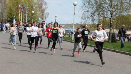 На набережной Сожа прошёл областной легкоатлетический кросс
